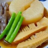 冬の精進料理☆ 芯から温まる「大根煮」