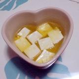 豆腐のアヒージョ++