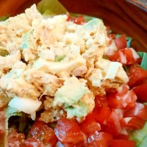 パーティ料理!アボカド&ツナのサラダ