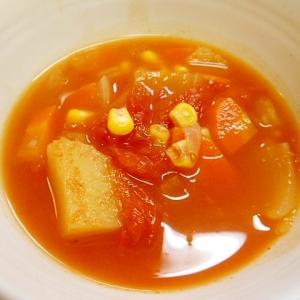 肉類なしの☆野菜のトマトスープ★