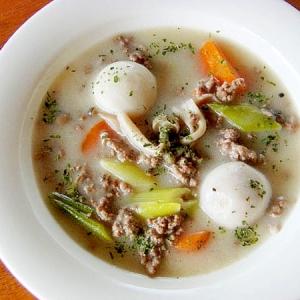 里芋のホワイトシチュー