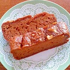シナモン風味 ナッツとニンジンのケーキ