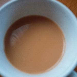 Wミルクの紅茶珈琲