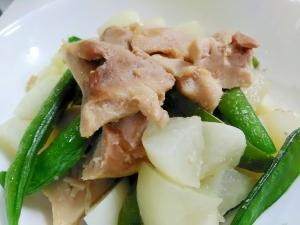 シンプルな一品☆鶏肉とかぶのコンソメ煮