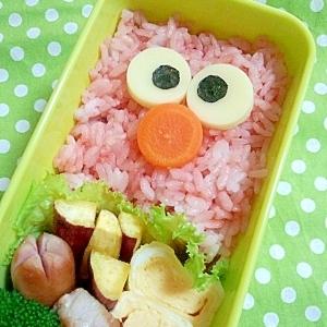 簡単キャラ弁☆エルモのお弁当♪