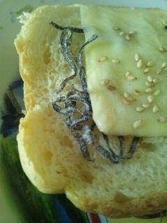 塩昆布食パン♪