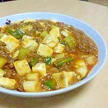 ケチャップ麻婆豆腐☆