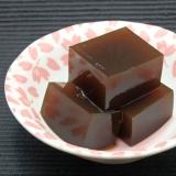 もちっと柔らかい黒糖寒天の作り方