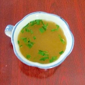余ったツナの汁で★ツナスープ