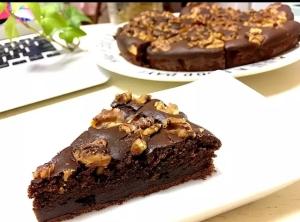 簡単!ホットケーキミックスでチョコレートケーキ!