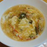 松前漬けリメイク卵スープ