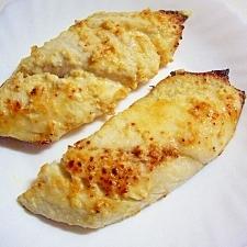 さわらの味噌マヨ焼き