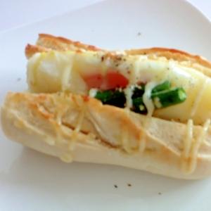 マヨサニー温野菜サンド
