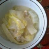 白菜とあさりのクリーム煮
