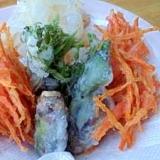 天ぷらを簡単に! 米粉で精進揚げ