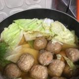 肉団子の白菜煮