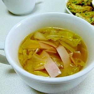 【10分以内★簡単】キャベツスープ