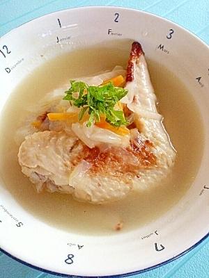 鶏手羽肉の塩麹スープ煮