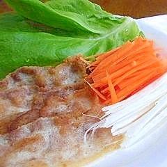 豚バラ肉のサラダ巻き