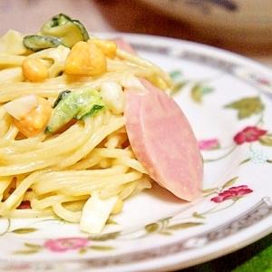 ギョニソdeパンにも合うスパゲティサラダ