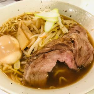 kimuパパのチャーシューと醤油ラーメン