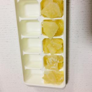 離乳食中期 りんご