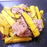 さつま芋と切り昆布の炒め煮