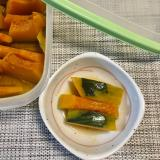 うどんスープとレンジで簡単☆かぼちゃの煮物