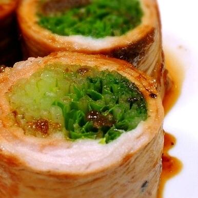 【管理栄養士の献立】お肉でまきまき!ボリュームたっぷり野菜の肉巻きで晩ごはん
