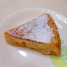 フライパンで簡単、端パンdeケーキ