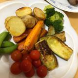 ステーキの時の付け合わせに!焼き野菜