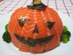 ハロウィン☆ちらし寿司