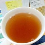 キューちゃんで☆ジンジャースープ風コーン茶♪