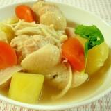 ☆鶏手羽元と残り野菜のポトフー☆