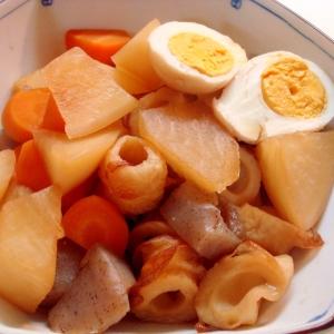 卵と大根のうま煮