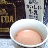 鍋要らず☆マグカップひとつで作るココアドリンク♪