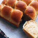 ほっこりふんわか*黒糖カフェオレちぎりパン
