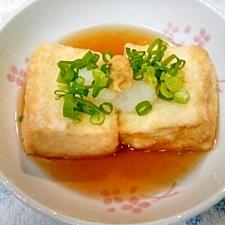 お豆腐大好き揚げだし豆腐