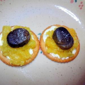 安納芋と甘栗のマヨリッツ♪