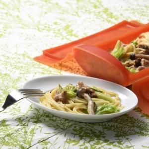 〔ひかり味噌公式〕ツナとキャベツの味噌パスタ