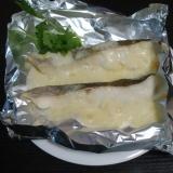 鱈とチーズのホイル焼き
