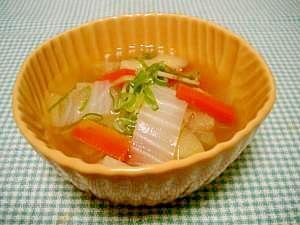 野菜たっぷり❁中華スープ