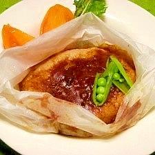 レンジで☆フワフワっ豆腐ハンバーグ