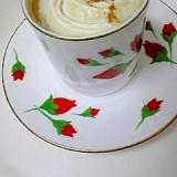 生クリームが余ったら♪ シナモンホイップコーヒー