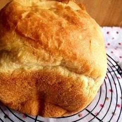 HBにお任せ♪ホシノ天然酵母のシンプル食パン