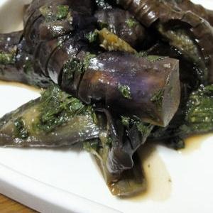 茄子と大葉の煮物