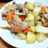鶏肉の味噌クリーム煮