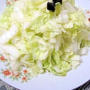 ピリ辛★白菜の中華風サラダ(涼拌白菜)
