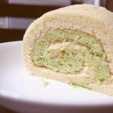 123の簡単プチロールケーキ
