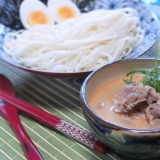 豆乳坦々風つけ麺